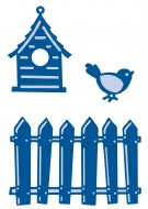 Marianne Creatables Bird & Fence