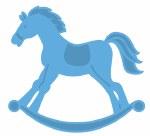 Marianne Creatables dies Rocking Horse