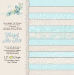 Paper Pk 12x12 LC Basics Forget Me Not