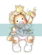 Magnolia Mini Princes & Princesses Stamp 2.75X5.75 Package Baby Tilda