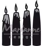 Marianne Design Advent Candles