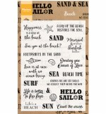 Clear Stamp Marianne Design Beach Sentiments