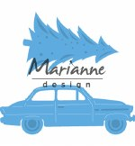 Marianne Design Die Driving Home For Christmas