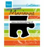 Marianne Design Die Puzzle Piece