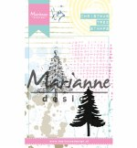 Clear Stamp Marianne Design Tiny's Christmas Tree