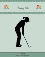Die DixiCraft Golf Lady