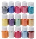 CAS Mica Pigment Powders 15pk