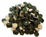 Mosaic Glass Drops Green 140pk