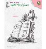 Clear Stamp Nellie's Choice Book With Owl