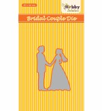 Nellie's Choice Die Bridal Couple 50x66mm