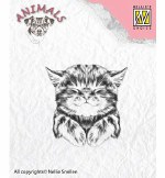 Clear Stamp Nellie's Choice Pussycat