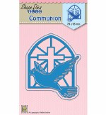 Nellie's Die Communion 79x95mm