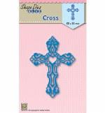 Nellie's Die Cross 66x90mm