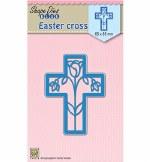 Nellie's Die Easter Cross 65x85mm