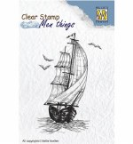 Clear Stamp Neillie's Sail Boat 85x55mm