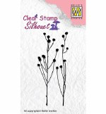 Clear Stamps Nellie's Choice Herbs 2 Silhouette
