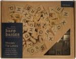 Papermania Bare Basics Wooden Tile Letters (600pcs)