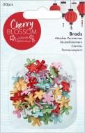 Papermania Cherry Blossom Brads (60pcs)