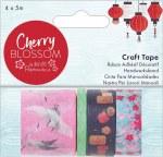 Papermania Cherry Blossom Craft Tape (4x5m)