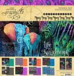 Paper Pk 12x12 Graphic 45 Kaleidoscope