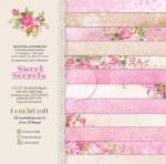 "Paper Pk12x12"" LemonCraft Sweet Secrets"