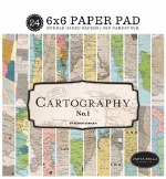 Paper Pk 6x6 Carta Bella Cartography