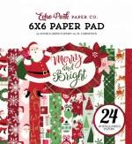 "Paper Pk 6x6"" Echo Park Merry & Bright"