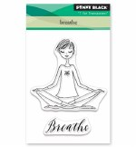 Clear Stamp Penny Black Breathe