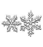 Penny Black Snowflake Duo