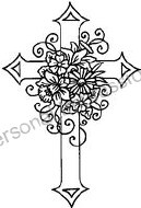 Clear Stamp Tinchies Cross #2
