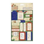 Papermania Die-cut Sentiments Foiled (2pk) Letter to Santa