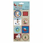 Papermania Sticker Sheet (16pcs) Jolly Sa