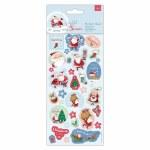Stickers PM Home W Santa