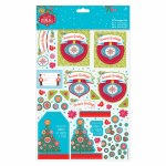 Papermania Decoupage A4 Seasons Greetings