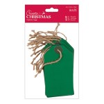 Tags DoCrafts (20pk) Green