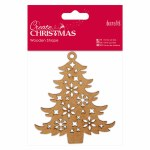 DoCrafts Make Your Own Decoration Wooden Tree