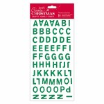 Alphabet Thicker Stickers PM Green
