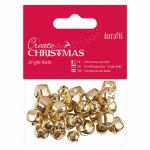 Jingle Bells 30pk Gold