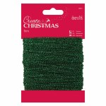 Papermania Sparkly Trim (20m) Green