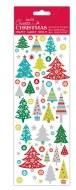 Stickers Christmas Folk Trees