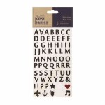Papermania Alphabet Rub Ons