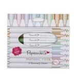 Brush Marker Metallic 8pk