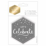 "Clear Stamp 4x4"" ML Let's Celebrate"