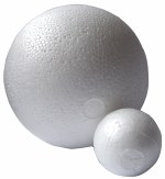 "Polystyrene Ball Ø 6"" Solid"