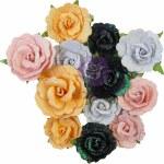 Prima Marketing Thirty One Flowers Candy Corn