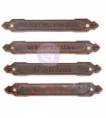 Prima Mechanical Rusty Labels
