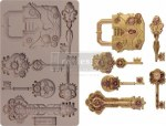 Re Design With Prima Mechanical Lock & Keys 5x8 Inch Mould