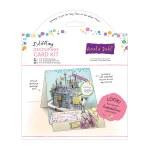 6x6 Decoupage Card Kit  Roald Dahl Spliffling Factory