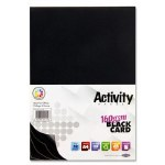 A4 Black Card 40 Pack