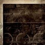 Paper 12x12 Time Machine Steam